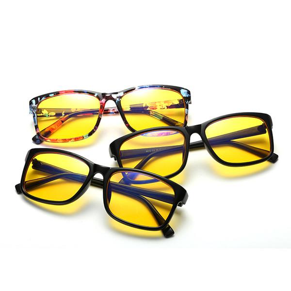 Óculos de computador Frame Anti Blue Eyeglasses para Office Lightweight Frame Ótico para Homens Mulheres WD8012