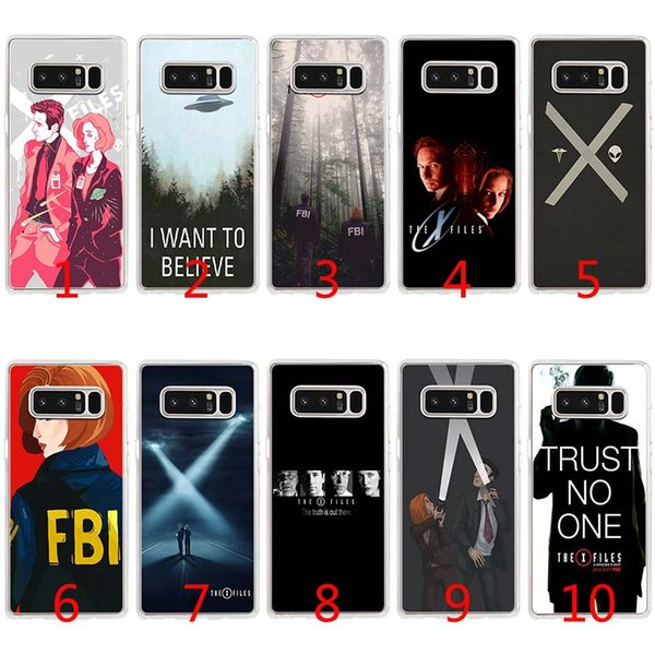 The X Files I want to Soft Silicone TPU Case for Samsung S7 Edge S8 Plus S9 Plus Note 9 8 Cover