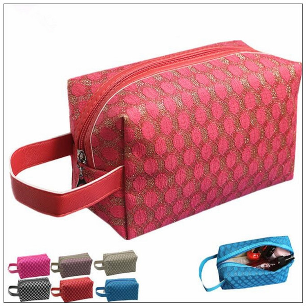 Travel Large Capacity Makeup Bag Women Cosmetics Bag Mesh Glitter Makeup Bag Travel Cosmetic Bags Cca9125 Online Makeup Store Personalized Makeup Bags