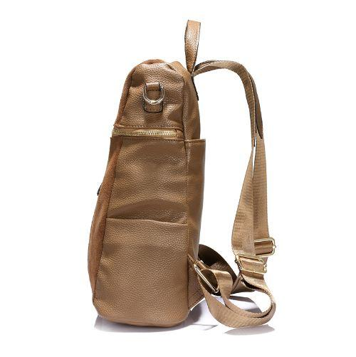 LOVEVOOK brand vintage women backpack nubuck leather+PU school backpacks for teenage girls casual large capacity shoulder bags