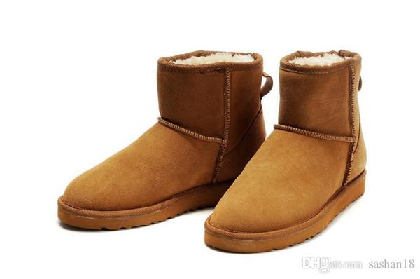 2017 hiver Nouveau WGG Australie Classique neige Bottes A +++ Qualité Pas Cher femmes homme bottes d'hiver bottes de mode discount bottines taille 5-12