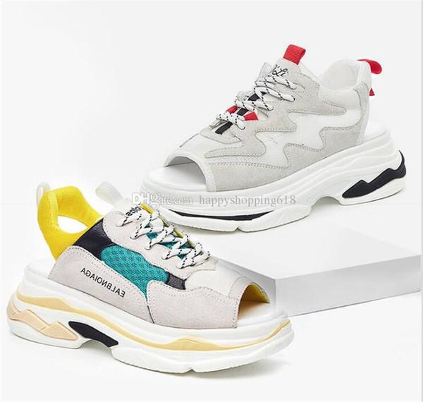 Vente chaude Nouvelles Sandales Pour Femmes Fille Ins Unique Chaussures Bottes Plate-Forme Chaussure Plage Sandale Chaussures Casual Voyage Sneakers Été Femme 35-39