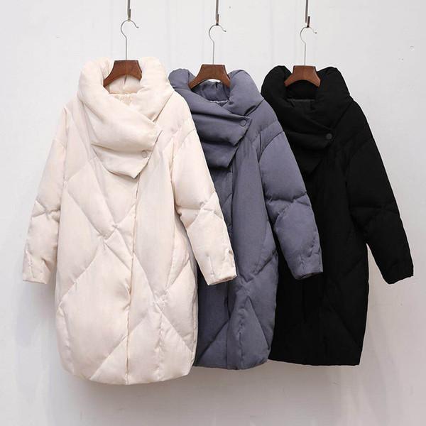 Ente Für Weibliche Parka Großhandel Vintage Daunenjacke Frauen Hohe Frauen Daunenmantel Mantel Von Winterkleidung Jacke Knielangen Qualität 0wO8knP