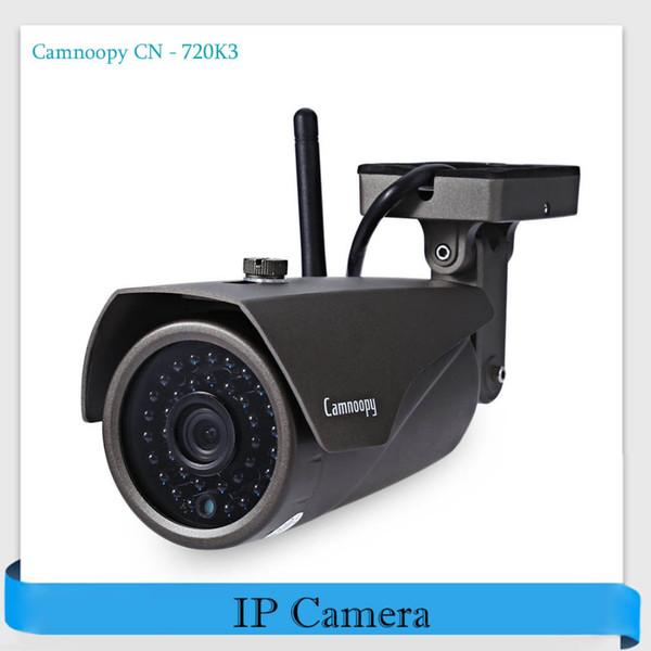 Camnoopy CN-720K3 720 P H.264 WiFi IP Kamera ONVIF Hareket Algılama Açık Su Geçirmez IR-Cut Kızılötesi Kablosuz Güvenlik kamera