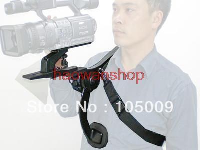 Handfreie Kamera Schulterstütze Pad für Camcorder DV Video DSLR Canon Nikon Kamera