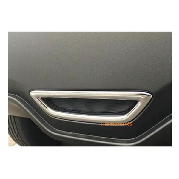 Car styling frame sticker ABS Chrome trim back tail rear Brake skid light lamp hoods 1pcs/set For TOYOTA C-HR CHR 2017 2018
