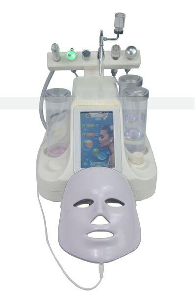 7 in 1 Hydra Dermabrasion RF BIO Lifting Spa Facial Machine Aqua Skin Cleaning Water Peeling Cold Hammer Ultrasonic Oxygen Spray Hydrafacial