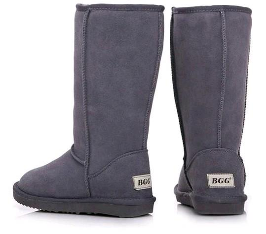 Winter Warm WGG Gooses Classic Australia Tall Boots Waterproof Cowhide Genuine Leather Snow Boots Bailey Bowknot Warm Shoes For Women 15