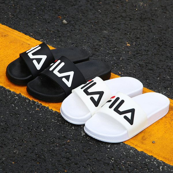 Designer Slippers New Brand Letters Desinger Slides Mens Flip Flops Summer Fashion2018