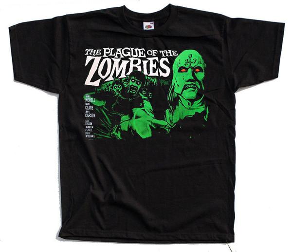 La peste des zombies Affiche de film 1966 T-shirt Noir Toutes Tailles S 5xl