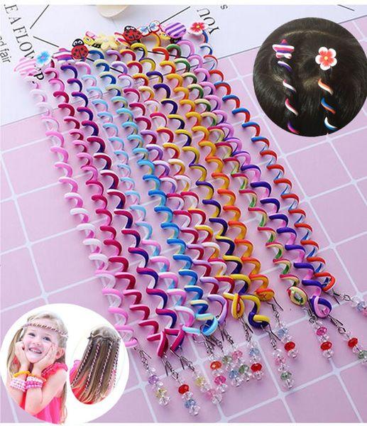 Beauty 6Pcs/Set Girl Mom Curler Hair Braid Hair Sticker Baby Decor Girl's Accesories Women's accessories