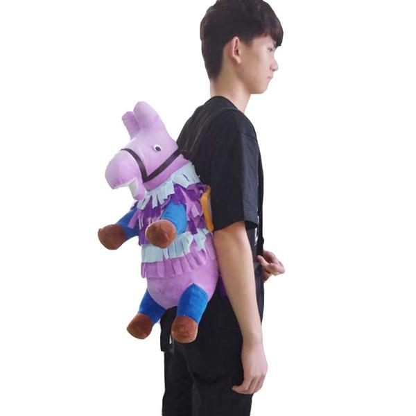 2018 Cosplay Halloween Llama Loot Toy Plush Doll Soft Cartoon Figure Anime Bag Men Women Boy Girl Gift