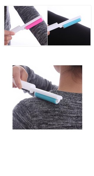 Water-washing sticky hair is dust sticky hair roller roller recycled wool clothing suction brush dusting brush device