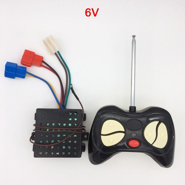 RC and 6V Receiver-A