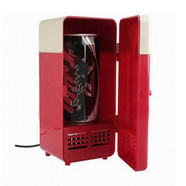Frigo mini USB frigo caldo e freddo a duplice uso per auto doppio uso cosmetico congelatore orizzontale per freezer