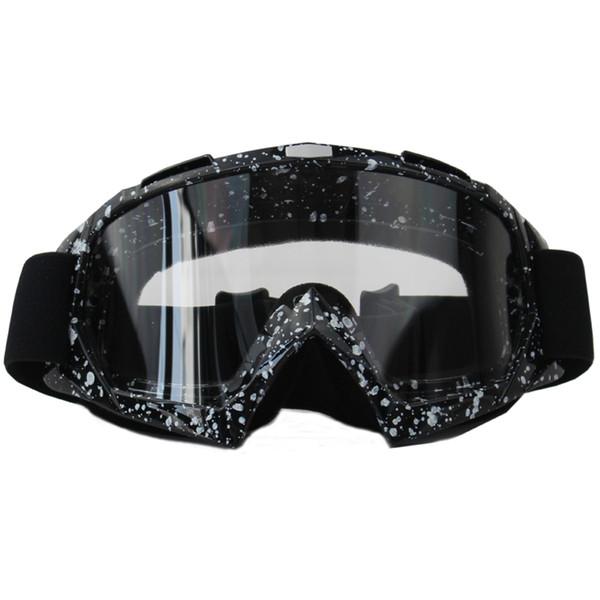 OSHOW Kayak Gözlük Kadınlar Için Kar Güneş Gözlüğü Kask Aksesuarları Kadınlar Snowboard Tek Lens Gözlük Şeffaf Evrensel