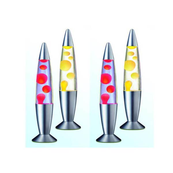 Compre Nocturna Original Cera CambiadoLámpara Led Con LíquidoEstilo Luz Amarilla De Base Lámpara AzulColor Cohete Plata Lava LavaLa De En A De EH2IWDY9