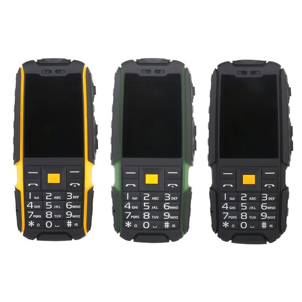 Original Suppu X6000 Long Standby Dual Card Power Bank Fm Radio Shockproof Ip67 100% Real Waterproof Rugged Outdoor Mobile Phone