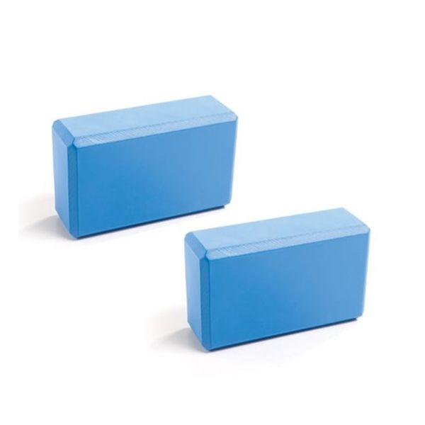 2pcs Yoga Pilates EVA Foam Block Bricks Home Exercise Tool Stretching Aid