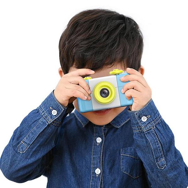 Мини-камера цифровая камера для детей детские милый мультфильм многофункциональный игрушка камера дети День рождения лучший подарок