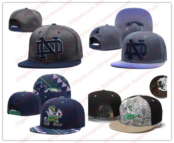 NCAA Нотр-Дам борьба ирландский Snapback шапки 2018 новый колледж регулируемые шляпы все