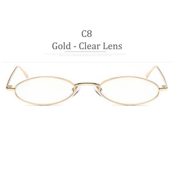 Obiettivo chiaro dell'obiettivo dell'oro C8