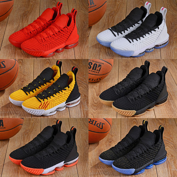 Equality Lebron 16 16s Basketball Shoes Super Bron Fresh Bred 1 Thru 5 What The I Promise Oreo King Mens Trainer Sports Sneakers