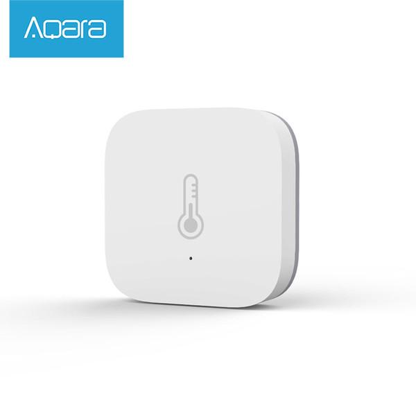 Versione Atmos Originale Xiaomi Aqara Smart Home Temperatura Sensore di umidità Termometro Igrometro Sensore digitale AQARA MIJIA Wifi Smart