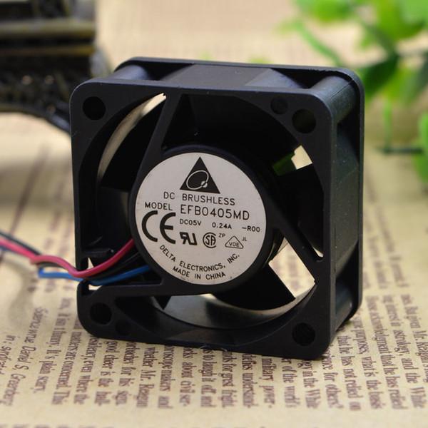 top popular For Delta 4020 4cm EFB0405MD-ROO 5V 0.24A Huawei AR28-11 Server Fan 2021