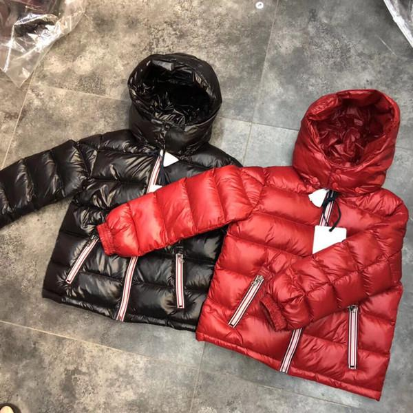 New arrival luxury brand boys winter down jacket for girls white down parkas 90% down warm Ultra light big children coat boys girls clothes