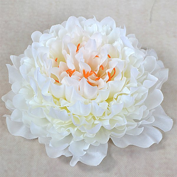 5pcs/lot Artificial peony flower heads DIY Multicolor Road lead wedding Bouquet hotel background wall decor accessories flores