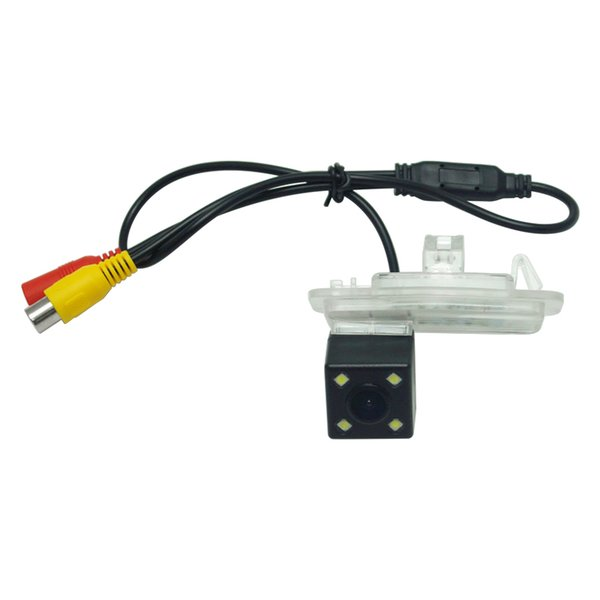 wholesale Car CCD Backup Rear View Camera With LED For Honda Crider 2016 Reversing Parking Camera Four lights night vision#2841