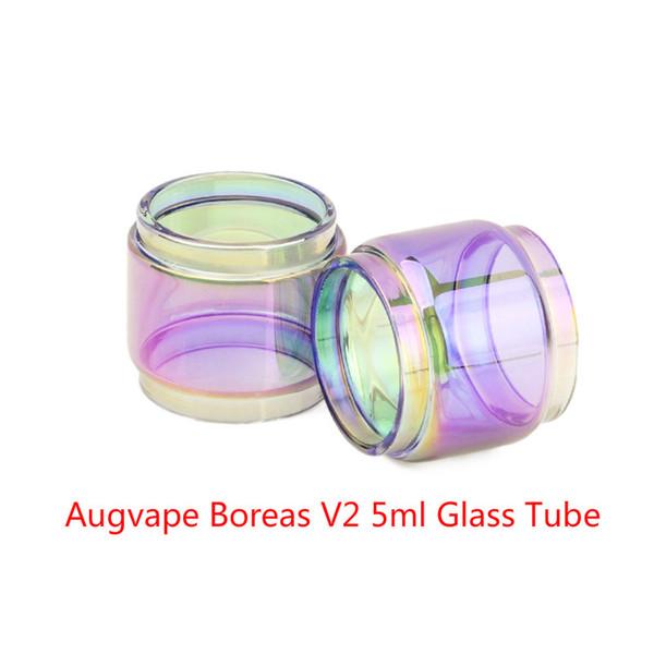Оптовая Augvape Борея В2 5мл расширение пузырь радуги свободно стекла DHL купить дешевые Augvape Борея В2 5мл жирный лампы стеклянная трубка