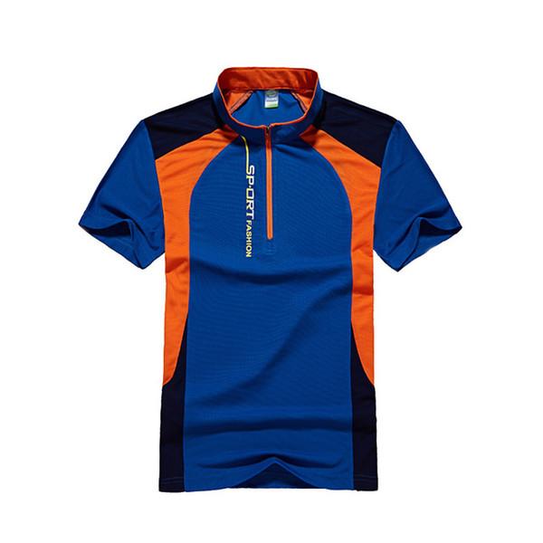 Ropa de pesca Deporte Senderismo Camiseta Táctica Caza Camisa Al aire libre Mens Malla Camiseta Rápidamente Seca Coolmax Camisetas