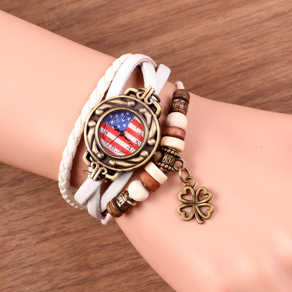 Fashion Trend Personality Small Clock Dial Woman Surface Bracelet Surface Woman Decoration Student Woman Fund Quartz Korean Watch Gift Surfa