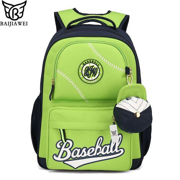 d93569abb473 BAIJIAWEI 2017 дизайн дети рюкзак симпатичные высокое качество школьные  сумки в начальной школе для девочек мальчиков детей водонепроницаемый  рюкзаки S914