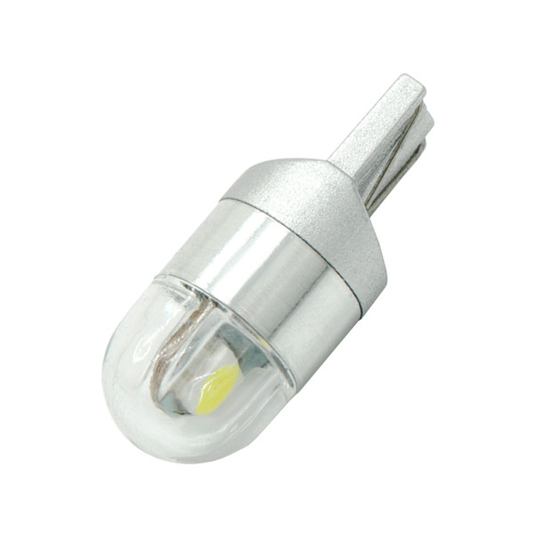 2Pcs T10 LED White/Blue/Yellow/Ice Blue/Red 2SMD 3030 W5W Car Side Marker lights Turn Side License Plate Light Lamp Bulb DC 12V