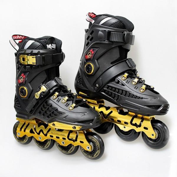 Roller Skate Sneakers >> 2019 Luxury Inline Skate Adult S Roller Skate Sneakers Quad Wheels