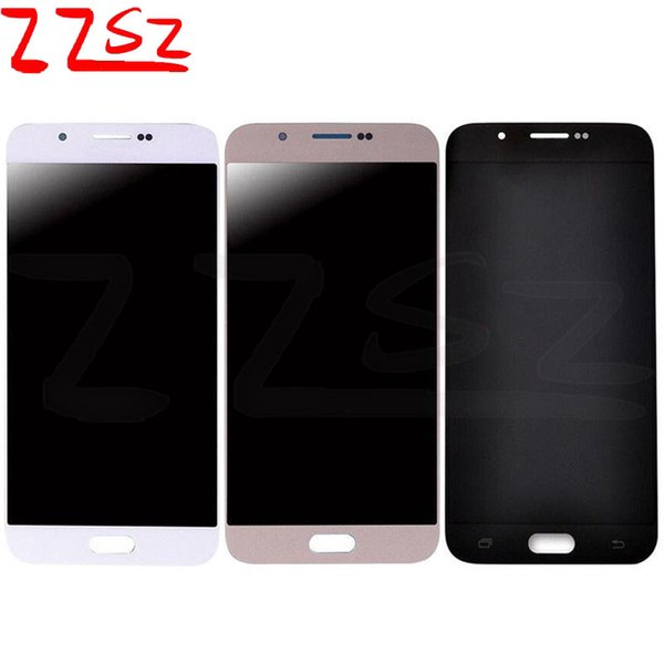 Factory price Super OLED LCD display touch screen For Samsung Galaxy A8 A8000 No Dead Pixel Digitizer 24 months warranty free shipping DHL