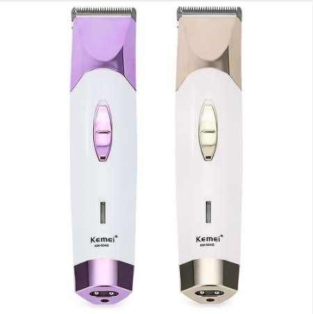 Kemei Original Professional Electric Hair Clipper Hair Trimmer Cordless Rechargeable 4 Combs EU Plug Haircut Machine For Men