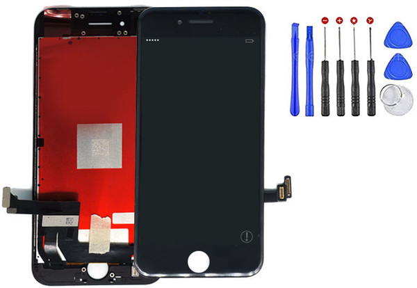 Top Grade for iPhone 8 LCD New Arrival Replacement Screen Digitizer Assembly Touch Screen Black & White Color 100% Test Passed Free DHL