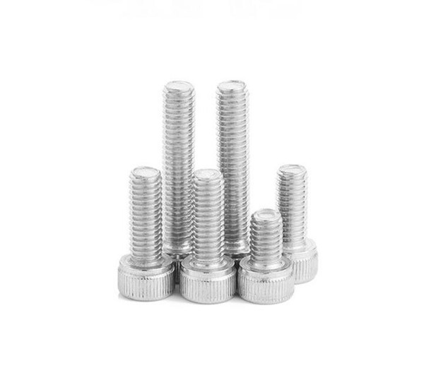 top popular High Quality 100pcs M3 M4 DIN912 304 Stainless Steel Hexagon Socket Head Cap Screws Hex Socket Bicycle Bolts HW003 2021
