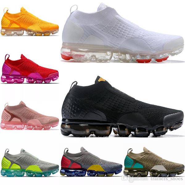 2018 Yeni Lab Moc 2 2.0 Hava Yastığı FK FK ayakkabı mens bayan Sneakers Moda Tasarımcısı Marka Spor Ayakkabı Kutusu Ile
