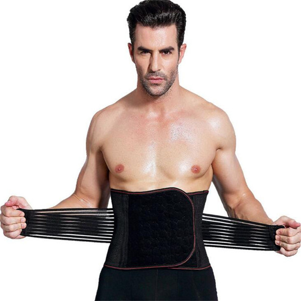 Мужчины здоровье пояса Body Shaper корректирующее белье талия мужской стальной кости живота группа для похудения корсет талия тренер Cincher тонкий Body Shaper