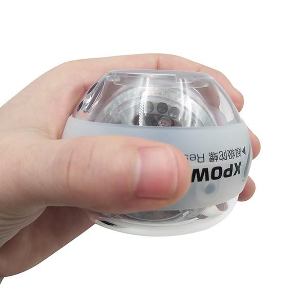 Platinum Dual LED Power Strengthen Wrist Ball Gyroscopic Super Fitness Hand Spinner Wrist Gyro Exerciser force ball E