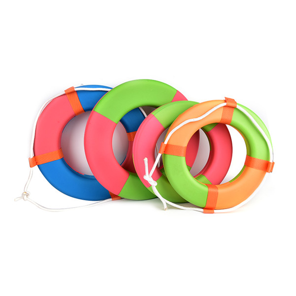 1 pc anel de natação EVA proteção do meio ambiente bóia salva-vidas de alta flutuabilidade espuma sólida anel de natação