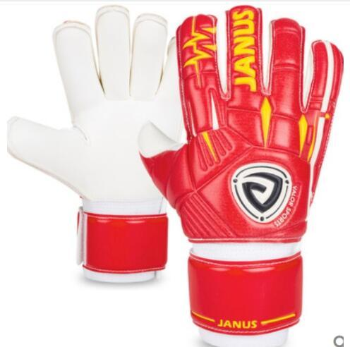Men Boy's Professional Football Goalkeeper Gloves Detachable Finger Protection Soccer Glove Keeper Yellow Red Adult Fast Shipping