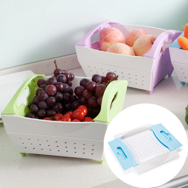 Корзины хранения новый узор фрукты и овощи корзина Главная мода оригинальность дренаж Скеп фруктов и овощей 7 6jx X