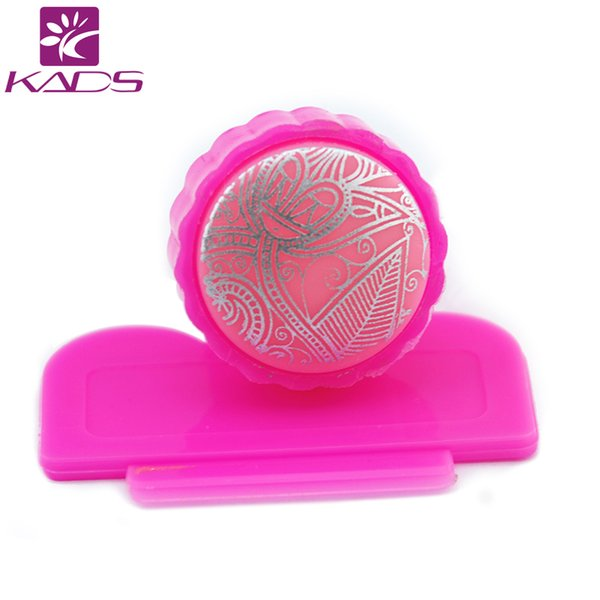 Kads Nail Scraper Stamper Silicone Sponge Printing Stencil Printer Nail Stamping Tools Art Manicure Tool For Stamping Plate Glitter Nail Art Simple