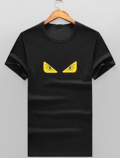 2bb88c00c9 Express 2018 New Eye Print Men Camiseta Algodón Camisetas American Fashion  Hombre Deportes camisetas homme Negro